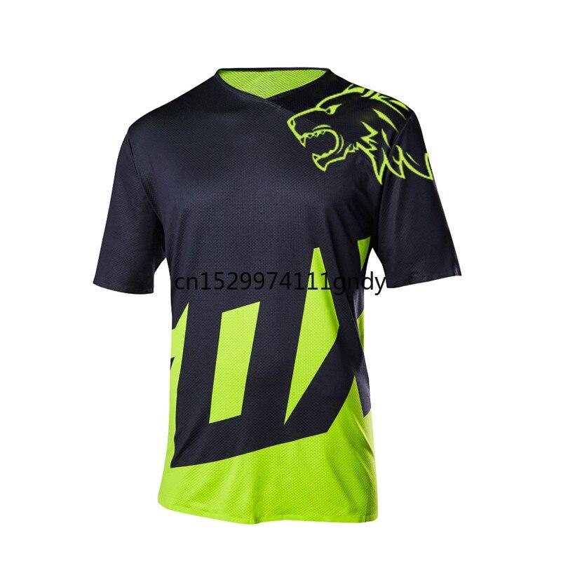 2020  Pro Motocross Racing Jersey Quick Dry Motorcycle MTB Cycling Shirt 180 Mountain Bike Downhill DH Long Sleeve Jersey