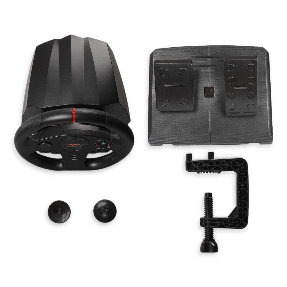 Original PXN PXN-V900 Gamepad controlador volante ordenador móvil de carreras de videojuegos vibración - 2