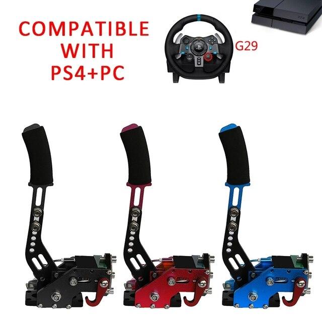 PS4/Xbox one + PC USB Hand Brake+Clamp For Racing Games G29/G920/T300RSG295/G27 Logitech Brake System Handbrake Games Parts