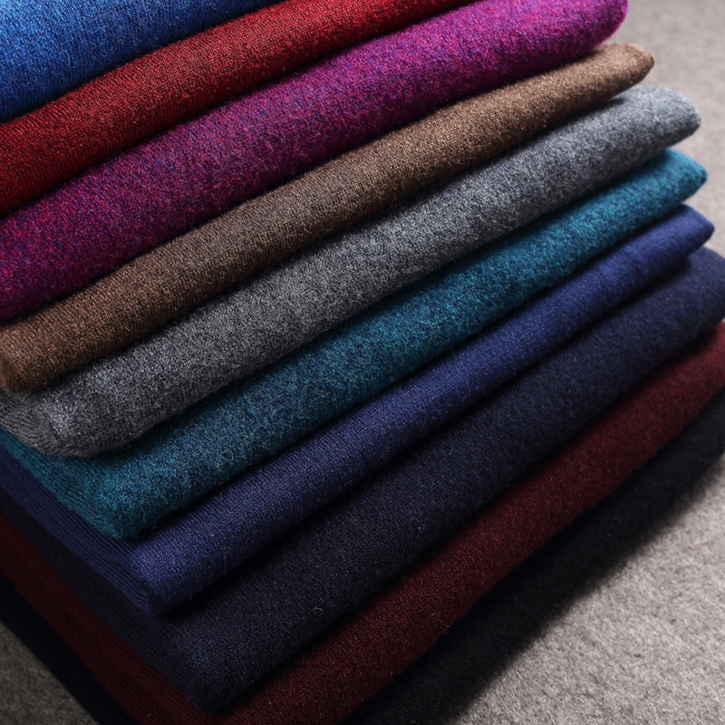 100% wolle Neue Mode Pullover männer Pullover Slim Fit Jumper Strickwaren Rollkragen Winter Koreanische Beiläufige Mens Kleidung