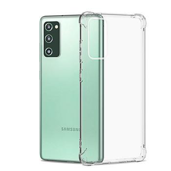 Odporny na wstrząsy przezroczysty futerał do Samsung Galaxy S20 Fe S21 Ultra S10 S9 S8 Plus S7 S6 uwaga 20 10 Pro Lite 9 8 silikonowy miękki futerał tanie i dobre opinie jaspever CN (pochodzenie) Pełne pokrycie Zmywalna Odporna na odciski palców Anti-Scratch Kurzoodporny Lekkie ANTYPOŚLIZGOWY