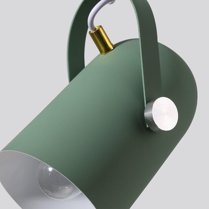 Nordic Minimalism droplight Angle adjustable E27 small pendant lights Home decor lighting lamp and Bar Showcase