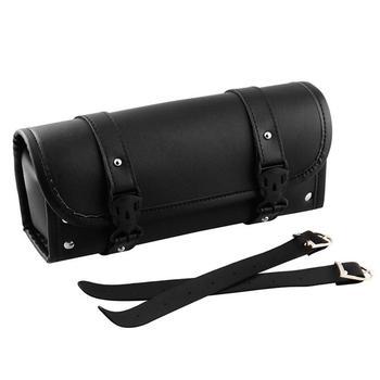 Narzędzie motocyklowe torby uniwersalny pręt torby narzędziowe boczne motocyklowe torby torby motocyklowe widelec torby na kierownice tanie i dobre opinie 30 5cm Artificial leather PU Top przypadki 400g Motorcycle Tool Bag 12cm 0inch Black