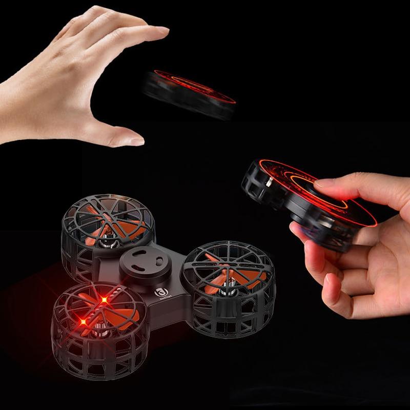 Flying Fidget Spinner Gyro Interphalangeal Gyro Magic Levitation Flying Decompression Toy Technology Toy