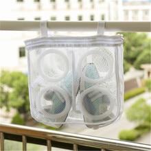 Bag Laundry-Bags Shoes Protect-Wash-Bag Washing-Net Mesh Dry-Sneaker 1pcs Home-Using