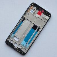 Nokia X6 6.1 Plus TA-1099 TA-1116 TA-1103 TA-1083 사이드 키가있는 새로운 금속 중간 프레임 섀시 등받이 홀더
