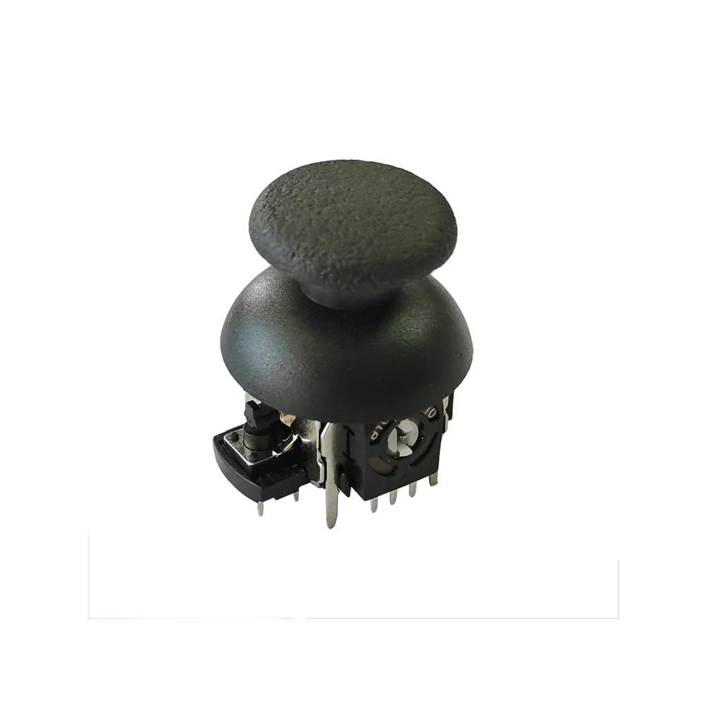 Taidacent 50 Pcs Rocker Potentiometer Switch 10K 103 530 Gamepad Circular Soft Potentiometer 3D Joystick Potentiometer With Hat