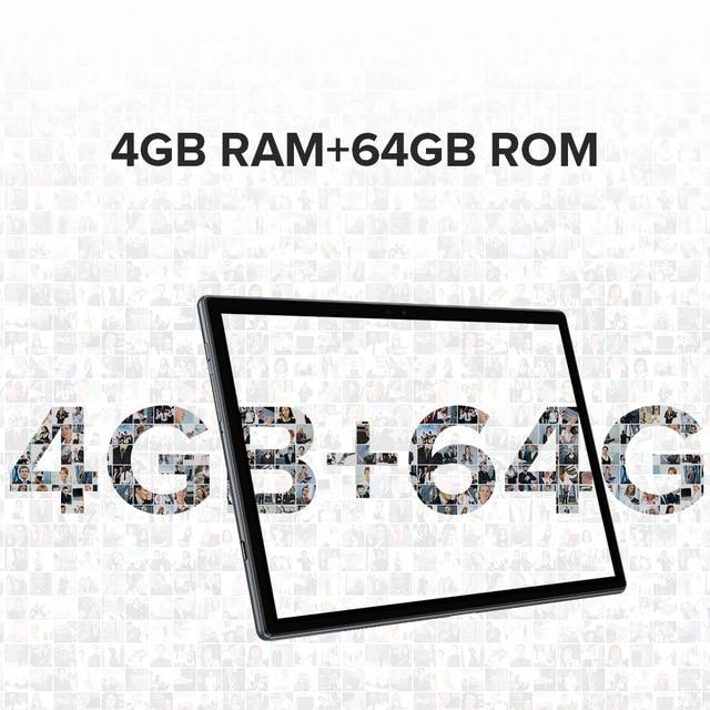 Ulefone Tab A7 Android 11 7680mAh Tablet PC 10.1 ''4G Network 4GB + 64GB Octa Core WIFI 1200*1920 Tablets 13MP Rear Camera 4