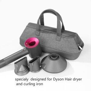 Image 2 - Dyson حقيبة تخزين مجفف شعر Dyson ، منظم محمول ، مقاوم للغبار ، حقيبة سفر ، حقيبة