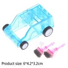 Pencil-Eraser Dust-Cleaner Trolley Confetti Car-Table Desktop Mini