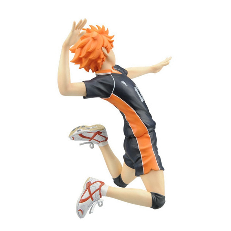 Image 3 - Anime Haikyuu Volleyball Athlete Hinata Syouyou Shoyo PVC Action Figure Collection Model Toys DollAction & Toy Figures   -