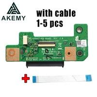1 5pcs For Asus X555U X555UA A555U F555U K555U X555UJ Rev 2.0 HDD Board Hard disk drive board 100% Tested Fast Ship
