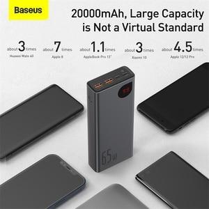 Image 5 - Baseus PD 65W Power Bank 20000mAh QC4.0 Portable Charging External Battery Charger PowerBank For iPhone Xiaomi Macbook PoverBank