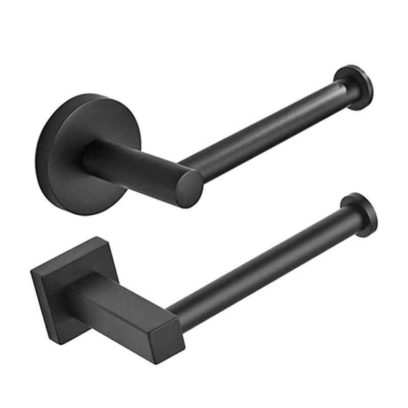 Permalink to Load bearing Toilet Paper Holder Bathroom Parts Stainless Steel Towel Rack Home Bathroom Supporter Fixture Accessories