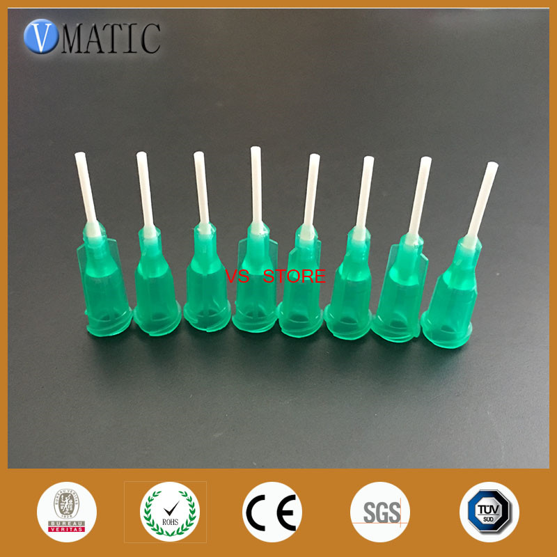 High Quality Top Rated Store 100Pcs 0.5'' Pp Flexible Needle Tips 18G 1/2 Inch