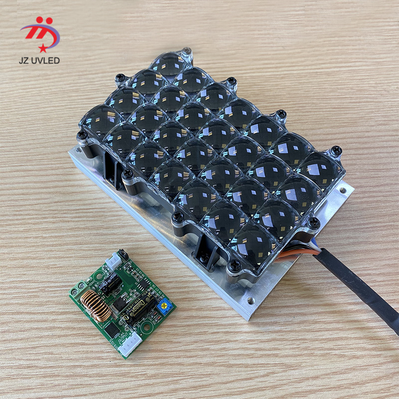 80W High Power 405nm UV Parallel Light Source For STEK 3D LCD 5.5/6/8.9 Inch 3D Printer Photosensitive Resin Curing LED X-CUBE