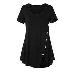 OWLPRINCESS/Новая Стильная летняя одежда; Женская футболка с короткими рукавами и пуговицами на поясе; Юбка для отдыха