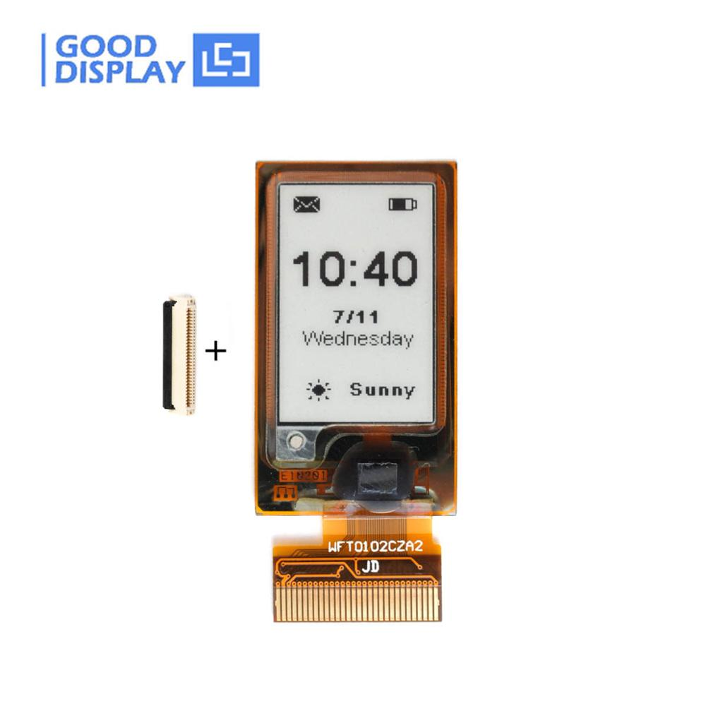 1.02inch Flexible E-paper Pressed-on FPC E Ink Screen Display