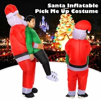 Inflatable Father Christmas Funny Fancy Dress Santa Claus Christmas Party Costume Decorations New Year