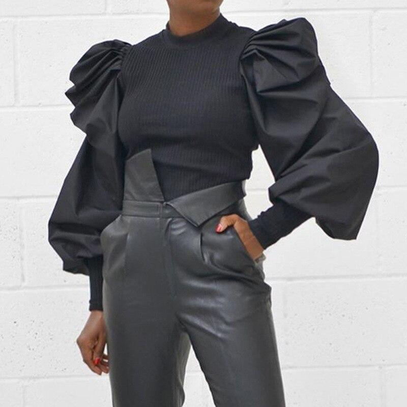 2019, зимний женский свитер, однотонный, черный, белый, Повседневный, Модный пуловер, базовый джемпер, осенний, Круглый ворот, вязаный женский с...