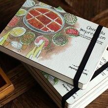 Kreatywne wrażenie miasta ręcznie malowany notatnik moda drukowanie Graffiti Sketchbook wielki prezent biznesowy notatnik papiernicze