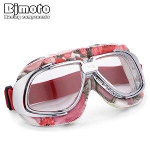 BJMOTO Retro Motorcycle Goggle