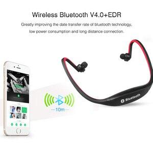 Image 4 - Kebidu fone de ouvido esportivo s9, fone de ouvido wireless e com bluetooth, deixa as mãos livres, suporte para xiaomi e huawei