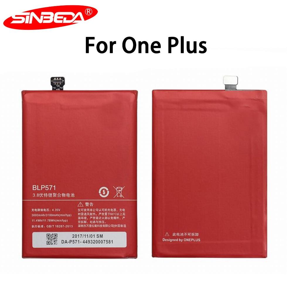 Sinbeda Original Para OnePlus 3 3T 5 5T 2 1 BLP571 BLP597 BLP613 BLP633 BLP637 Para 1 Substituição Da Bateria + 6 6T 7 Pro Baterias|Baterias p/ telefone celular| |  - title=