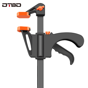 4 Inch Quick Ratchet Release Speed Squeeze Wood Working Work Bar Clamp Clip Kit Spreader Gadget Tool DIY Hand Woodworking uneefull 6 34 inch quick ratchet release speed squeeze wood working work bar clamp f clip spreader gadget tool diy hand tools