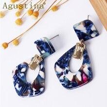 Pulsera Small Earrings Jewelry Acrylic Fashion Earrings For Women Statement Drop Earrings Pend ientes Punk Earings Minimalist cc