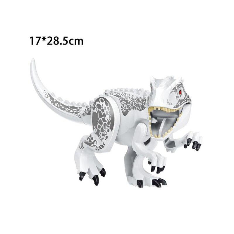 2020 NEW Jurassic World 2 Building Blocks Dinosaurs Bricks Tyrannosaurus Rex Indominus Rex I-Rex Legoinglys Dinosaurs Kids Toys