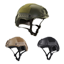 High Quality Protective Paintball Wargame Helmet Army Airsoft MH Tactical FAST Helmet with Protective Goggle Lightweight Helmet militech fast od green fa style super abs airsoft tactical helmet ops core style high cut training helmet super tough quality