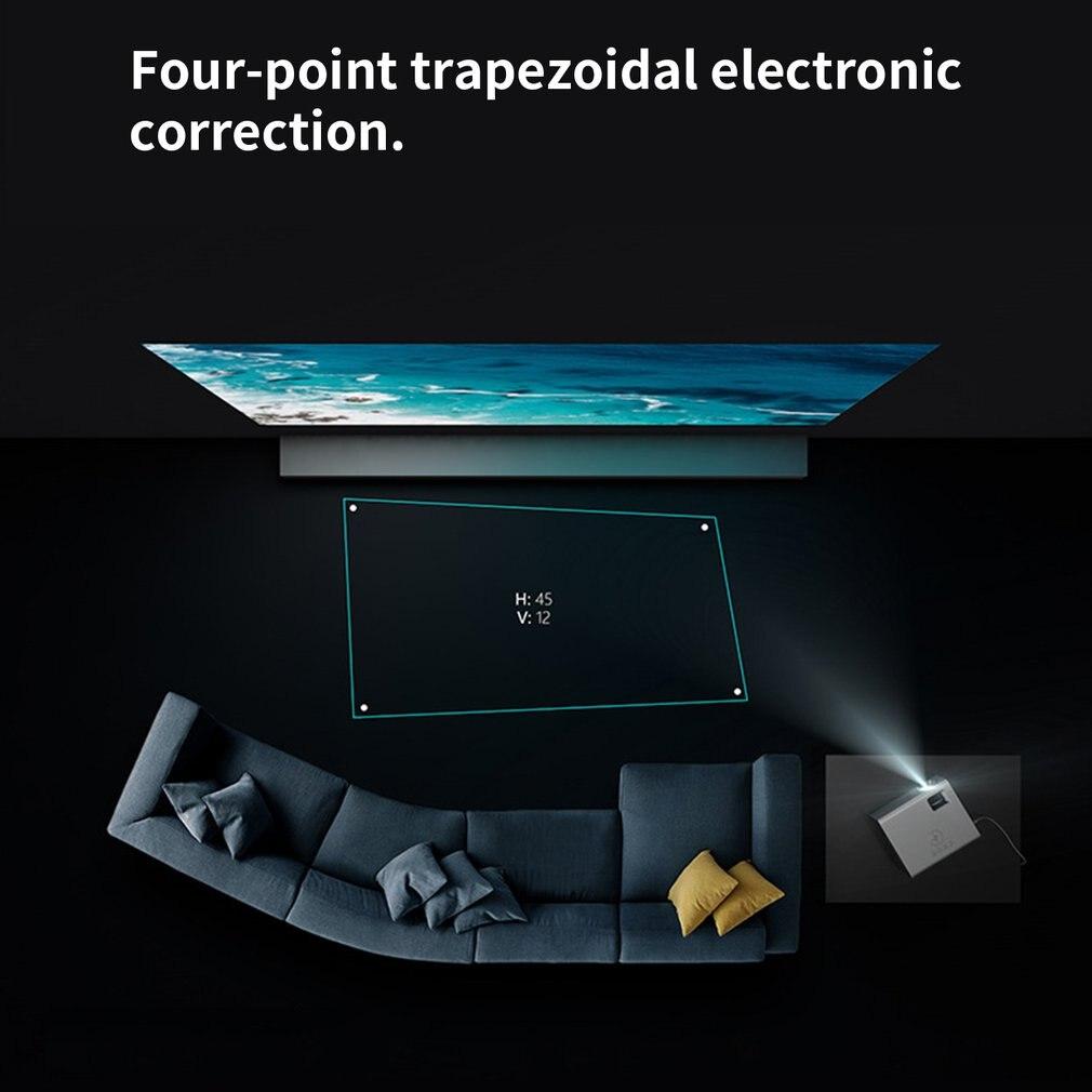 Rd825 Projecteur Téléphone Portable Même Écran version projecteur LED Soutient Hd 1080P pas de wifi - 6