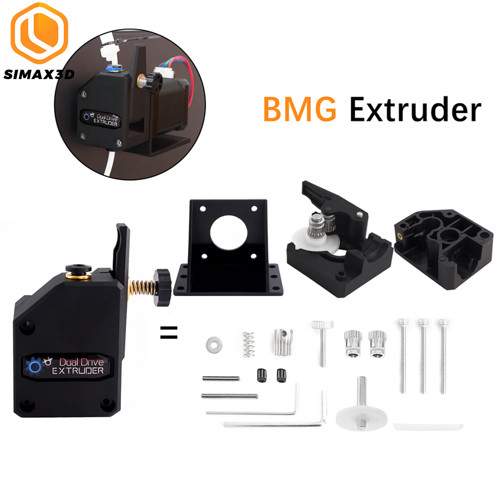 SIMAX3D Printer kit BMG Extruder Dual-drive Extruder Suitable for 3d Printer parts Suitable for high performance 1 75mm Filament