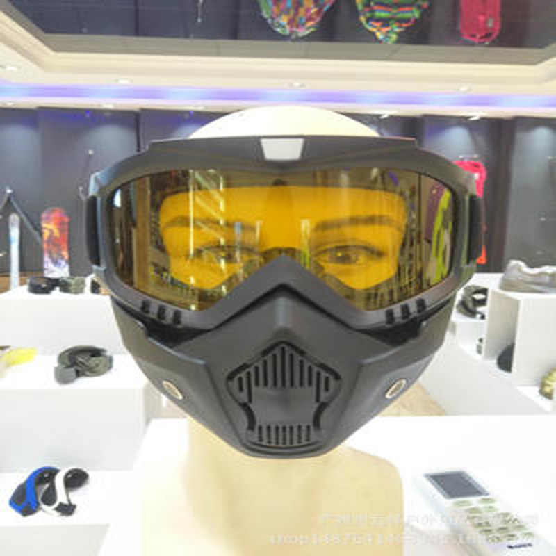 Cross-country Motorcycle Face Shield Wind Proof Vintage Goggles Cycling Glasses