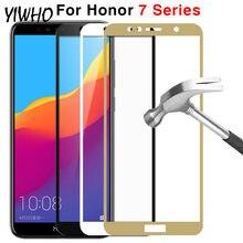 Vidro De proteção Para Huawei Honor 7c Pro 7a 7x Glas Temperado No Honer 7 S 7 X UM C S X7 S7 A7 C7 7apro 7cpro Protetor de Tela