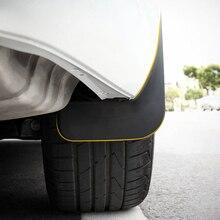 ITrims Car Styling Accessories for VW Arteon 2017 2018 2019 Exterior Mud Flaps Splash Guard 4PCS