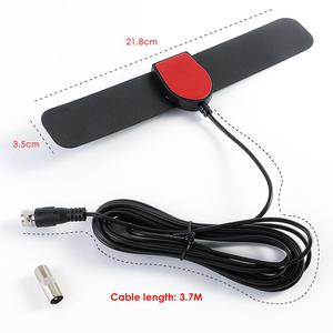 150 Miles HDTV Indoor TV Antenna DVB-T2 ATSC 1080P Digital Amplifier High Gain Satellite Receiver Built-in Car Antenna(China)
