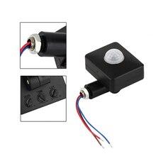 Mini Infrared Sensor 110-240V PIR Sensors Detector 180 Degree Up and Down Rotation OUJ99 180 degree up