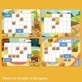 Kinder denken logic training board spiel krokodil push box pädagogisches spielzeug für kinder Familie Party Spiel