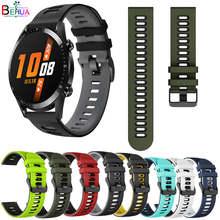BEHAU Armband Für Huawei Uhr GT 2 46mm 42mm Strap Armband 20mm / 22MM Armband Silikon für Huawei Uhr 2 pro armband