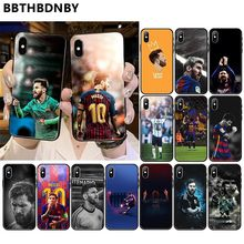 fundas MESSI For iphone XS MAX Customer High Quality Phone Coqa for iPhone 11 pro XS MAX 8 7 6 6S Plus X 5 5S SE XR case