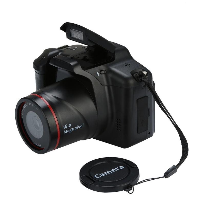 Портативная Цифровая видеокамера UK HD 1080P с 16-кратным увеличением, цифровая зеркальная камера 2,4 дюйма I