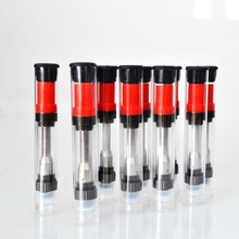 5pcs/lot Liberty Vape Cartridge Electronic Cigarette Ceramic Coil Glass Thick CBD Oil Atomizer Tank for 510 Thread Battery Mod