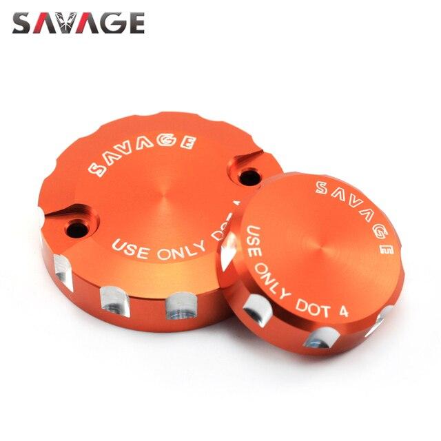 Front Rear Brake Cylinder Reservoir Cover For 990 SMT/Supermoto/R SUPER DUKE, 690 DUKE R Motorcycle Accessories Oil Fluid Cap
