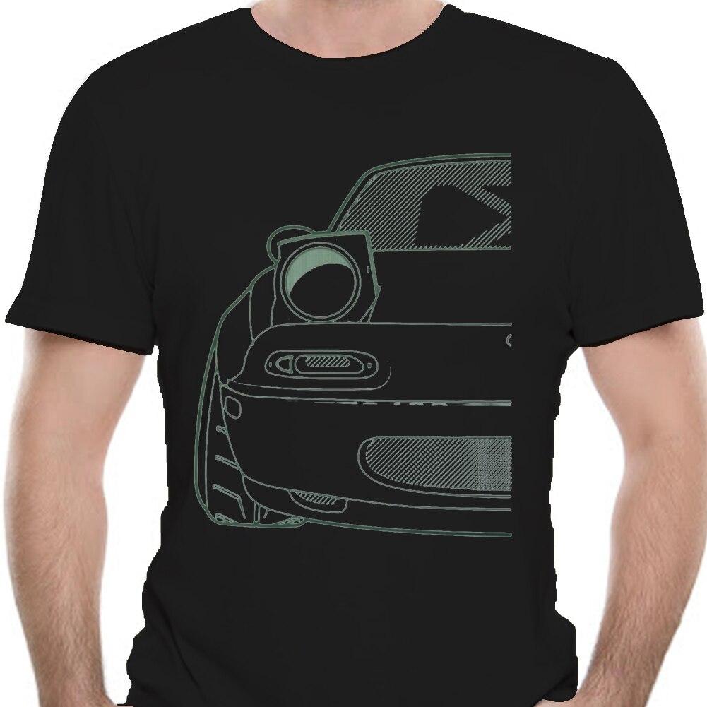 Men tshirt Custom JDM MX 5 NA Roadster tshirt Unisex T Shirt Printed T-Shirt tees top