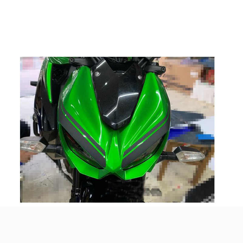 FOR KAWASAKI Z1000 Motorcycle Accessories Front  Headlight Sticker Decorative decals