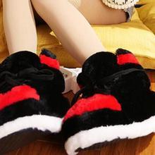 Женские тапочки; зимние тапочки для влюбленных; кроссовки; зимняя теплая обувь; домашние тапочки; Милые шлепанцы без задника; модные шлепанцы без задника