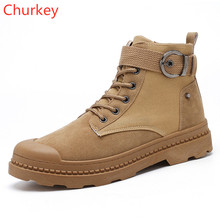 Man Shoes Work Boots Cowboy Boots Mens Ankle Riding Equestrian Spring/Autumn Male Comfortable Shoe Fashion Shoes 2019 Men Shoes цены онлайн