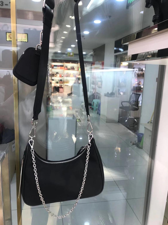2020 Senior Designer Diagonal Chain Handbag Oxford Cloth Bag Oxford Cloth With Leather Multi-purpose Diagonal Women's Handbag